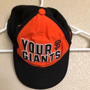 PINK GIANTS MLB HAT